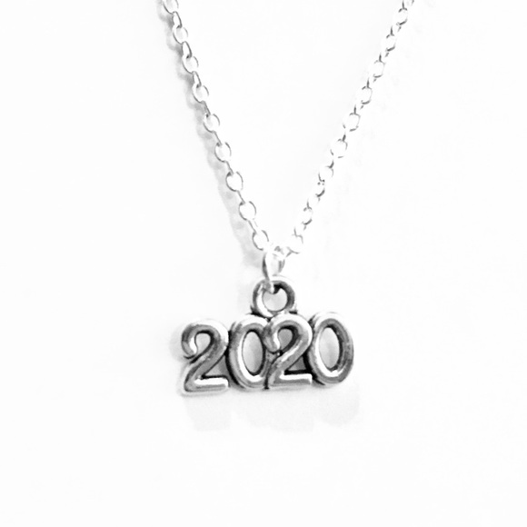 Graduation New Year Pendant NEW 925 Sterling Silver Year 2019 Charm